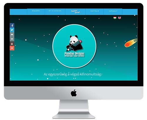 Ötvös Dia végzett hallgatónk saját portfólió oldala | www.pandiusdesign.hu