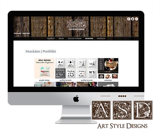 Kozma Viktória saját portfólió weboldala.