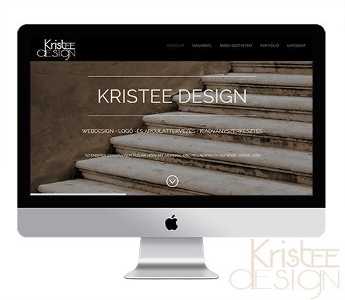 Váczi- Tóth Krisztina saját portfólió weboldala | www.kristeedesign.hu
