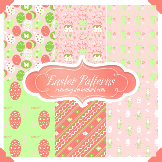 easter time patterns