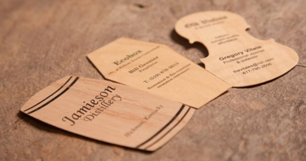 3-wood-business-cards