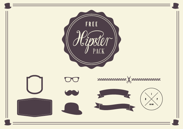 hipster-vector-elements