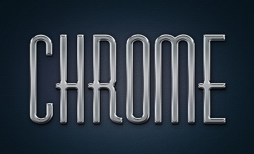 chrome-metal-text-effect