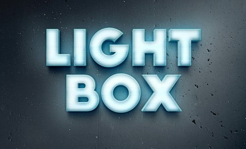 lightbox-text-effect-photoshop-1