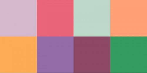 pasztell colors