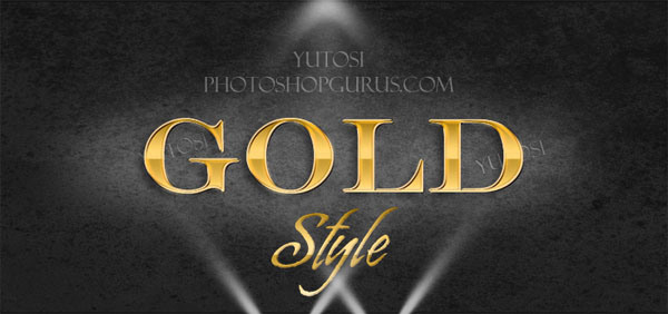 Gold-Text-Effect-Photoshop-Layer-Style