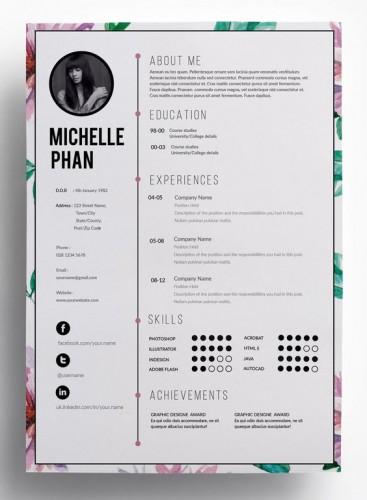 önéletrajz háttér Készítsünk kreatív önéletrajzot! | Webdesignsuli önéletrajz háttér