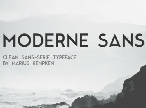 Moderne-Sans