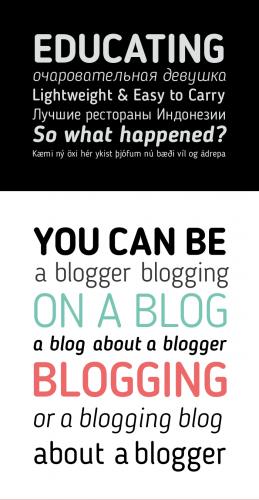 blogger_sans