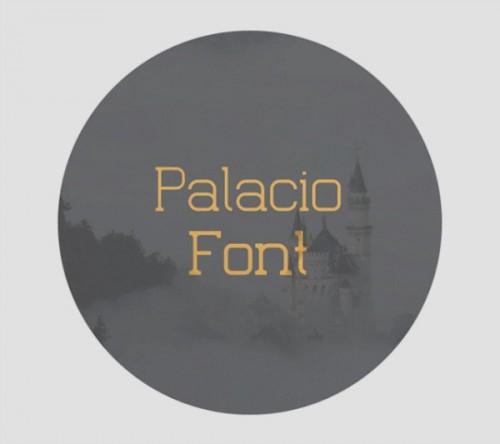 palacio_font