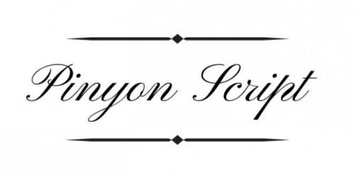 Pinyon-Script