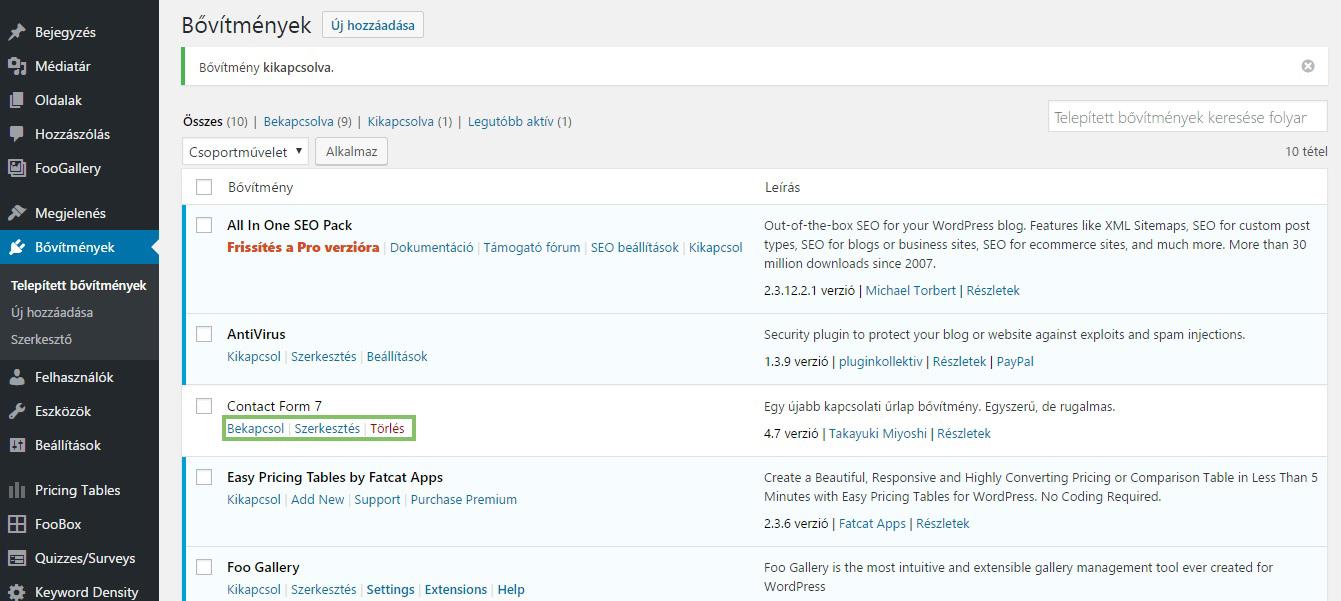 681db8a4f8 Minden, amit a WordPress bővítményekről tudni kell | Webdesignsuli