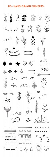 handdrawn-vector-elements